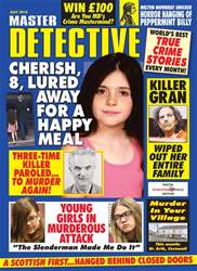 Master Detective July 2018 issue Master Detective July 2018