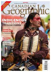 Canadian Geographic issue July/August 2018