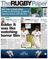The Rugby Paper issue 17th June 2018