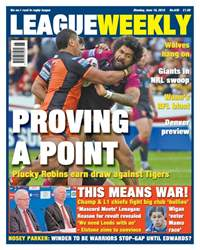 League Weekly issue 830