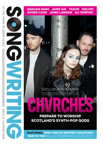 Songwriting Magazine issue Summer 2018