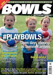 Bowls International issue   July 2018