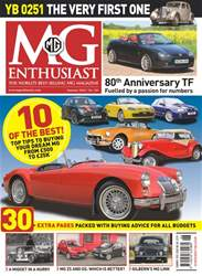MG Enthusiast issue Summer 2018