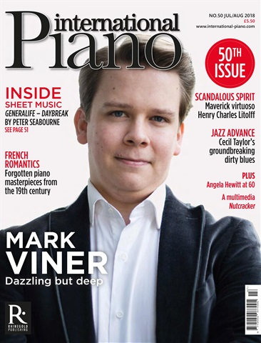 International Piano issue July - August 2018