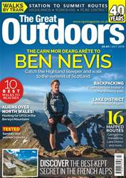 TGO - The Great Outdoors Magazine issue July 2018