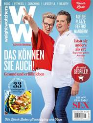 Weight Watchers Magazin Deutschland issue August/September 2018