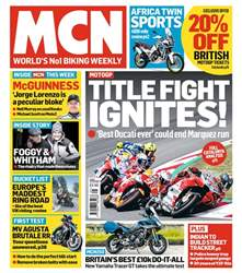 MCN issue 20th June 2018