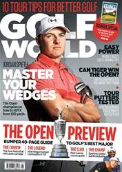 Golf World issue British Open 2018