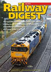Railway Digest issue July 2018