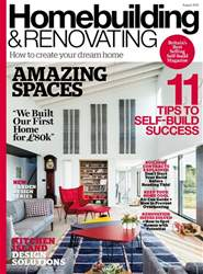 Homebuilding & Renovating Magazine issue August 2018
