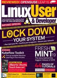 Linux User and Developer Magazine Cover
