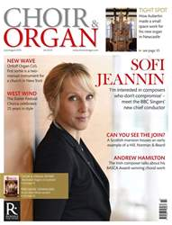 Choir & Organ Magazine Cover
