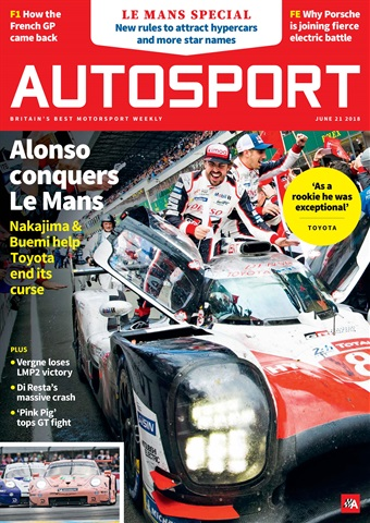 Autosport issue 21st June 2018