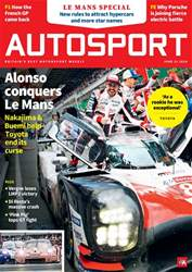 Autosport issue 21st June 2018