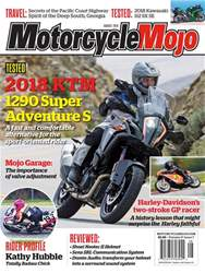 Motorcycle Mojo issue Aug-18