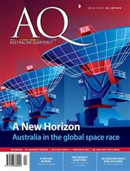 AQ: Australian Quarterly 89.3 issue AQ: Australian Quarterly 89.3