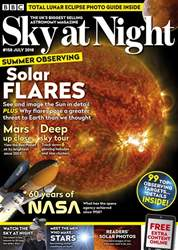 BBC Sky at Night Magazine issue July 2018