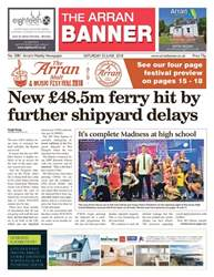Arran Banner issue 23rd June 2018