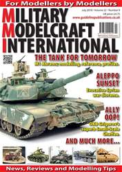 Military Modelcraft International issue July 2018