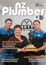 NZ Plumber June-July 2018 issue NZ Plumber June-July 2018