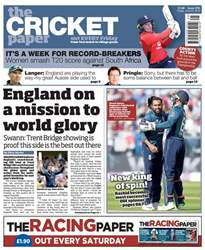 The Cricket Paper issue 22nd June 2018