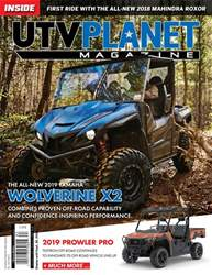 UTV Planet Magazine issue JULY | AUGUST | SEPTEMBER 2018