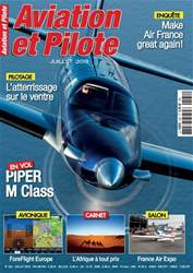 Aviation et Pilote issue July 2018