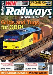 Railways Illustrated issue   August 2018