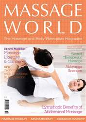 Massage World Magazine Cover