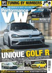 Performance VW issue August 2018