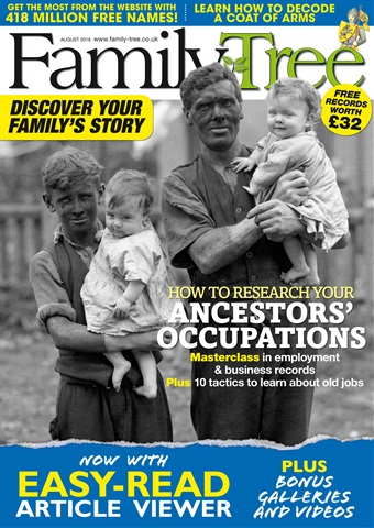 Family Tree issue Family Tree August 2018