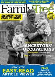 Family Tree Magazine Cover