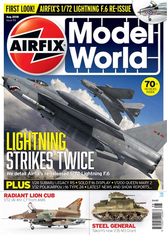 Airfix Model World issue  August 2018