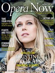 Opera Now issue July - August 2018
