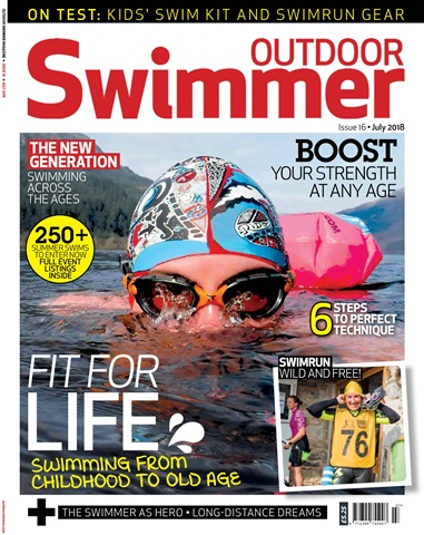 Outdoor Swimmer issue July 2018