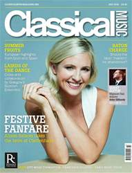 Classical Music issue July 2018