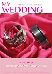 My Wedding issue My Wedding - July 2018