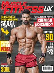 Muscle & Fitness Magazine issue Aug 2018
