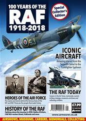 100 Years Of The RAF Magazine Cover