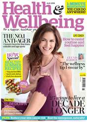 Health & Wellbeing issue Aug-18