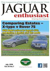 Jaguar Enthusiast issue July 18