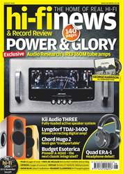 Hi-Fi News issue Aug-18