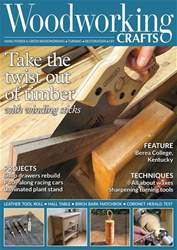 Woodworking Crafts Magazine issue August 18