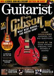Guitarist issue August 2018