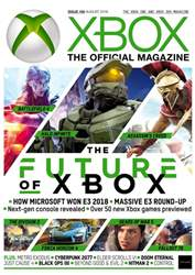 Official Xbox Magazine (UK Edition) issue August 2018