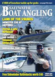 Saltwater Boat Angling issue Jul-18
