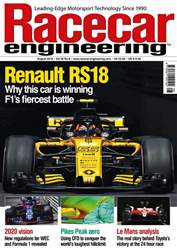 Racecar Engineering issue August 2018