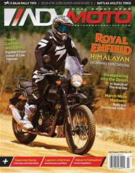 Adventure Motorcycle Magazine Cover