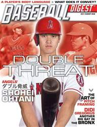 Baseball Digest issue July/Aug 2018