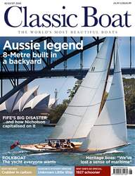 Classic Boat issue August 2018